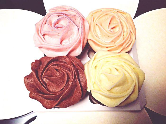 Petal Cupcakes Food Photography foodporn
