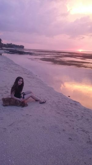 Life Is A Beach , Beach Junkie , My Dogs Are Cooler Than Your Kids , with my Polly in Bolinao, Pangasinan philippines :)