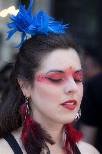 New York Dance Parade Dancer New York Dance Parade Portrait Portrait Of A Woman