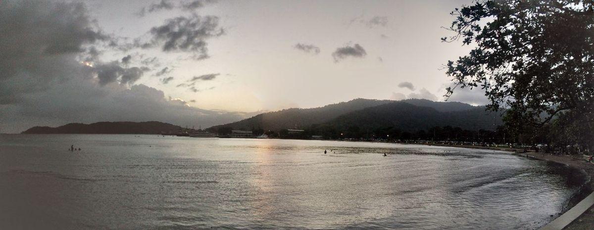 sea Ocean Sunset Chaguaramas Boardwalk