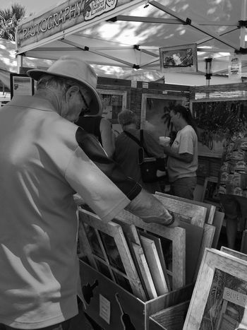 Flipping thru options at the Melbourne Art Festival Art Festival Melbourne Florida Street Fair Art Fair Paintings Live Love Shop