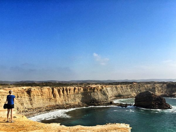 Cliffs Coastline Rocky Coastline Costa Vicentina Algarve From My Point Of View Coast Portugal_lovers Portugaligers Wu_portugal