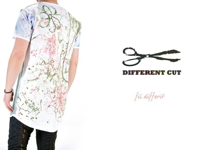 Different Cut handmade Tshirt. Order: www.DifferentCut.ro Happy Fun Enjoying Life Dress Be Different Fashion Blugi Men's Apparel Like
