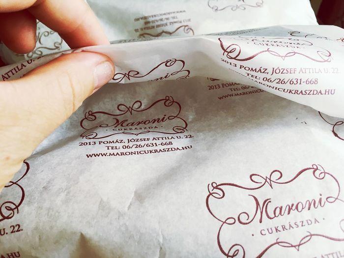 Omnomnom .... sweet surprise. Sutemeny Sweetness Torta Finom Hungarian Creamcake Omnomnom Dessertporn