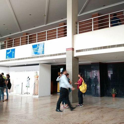 Inside of I-2 Block, our department of Law Amity AmityLawSchool Irfan
