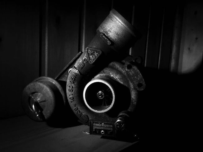 Close Up Technology Turbocharger Metal Old-fashioned Machine Part Blackandwhite First Eyeem Photo