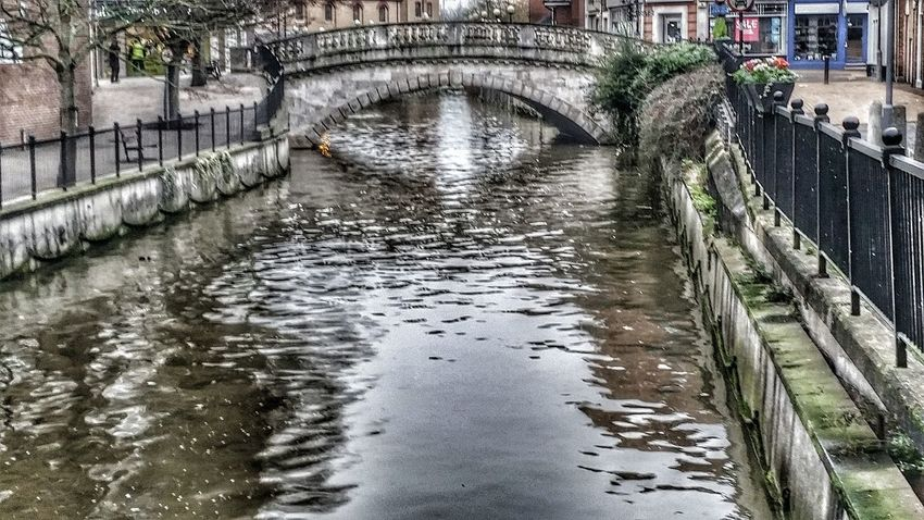 Reflections Stone Bridge River Chelmsford Water Reflections