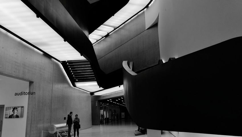 Architecture Built Structure Indoors  Transportation Modern People Subway Station