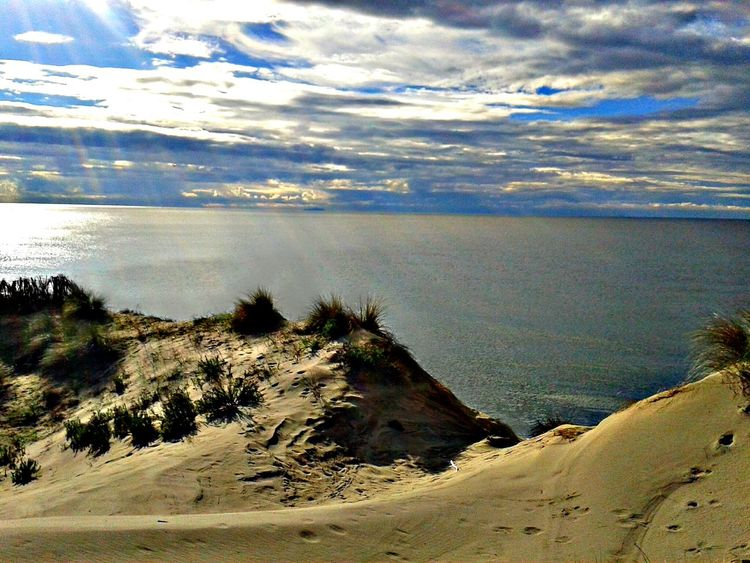 Sea Sea And Sky Sun Beams Sun Beam From Cloud Nature Nature Photography Naturelovers Beach Clouds Clouds And Sky Skylovers Sky And Clouds Watching Sun Light Capture The Moment Relaxing Walking Sand Dunes Natural Beauty Dunes SanRossore Toscana Italy❤️ Hello World Silent Moment