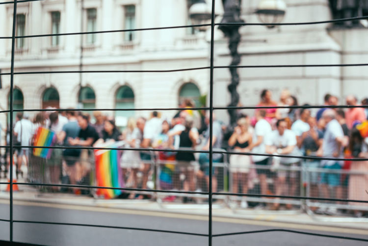 Architecture Building Exterior Built Structure City Crowd Day Large Group Of People London London Pride Men Outdoors People Pride Pride London Prideparade Real People Women