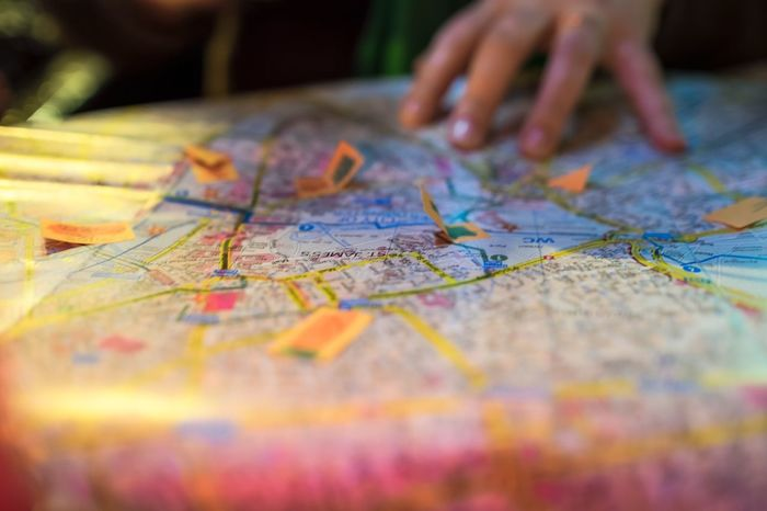 Where to go next? // Being A Tourist City City Map Close-up Detail Find GPS Hand Holding Light Map Maps Meeting Notes Orientation Planning Planning A Trip Reading Searching Selective Focus Sightseeing Street Tour Tourism Trip