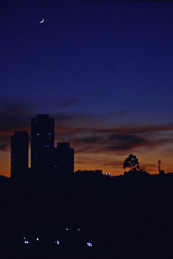 SP, 2017 City Silhouette Architecture Beauty In Nature Building Building Exterior Built Structure City Cityscape Cloud - Sky Dark Dusk Illuminated Landscape Nature Night No People Office Building Exterior Outdoors Scenics - Nature Silhouette Sky Skyscraper Sunrise Sunset A New Beginning