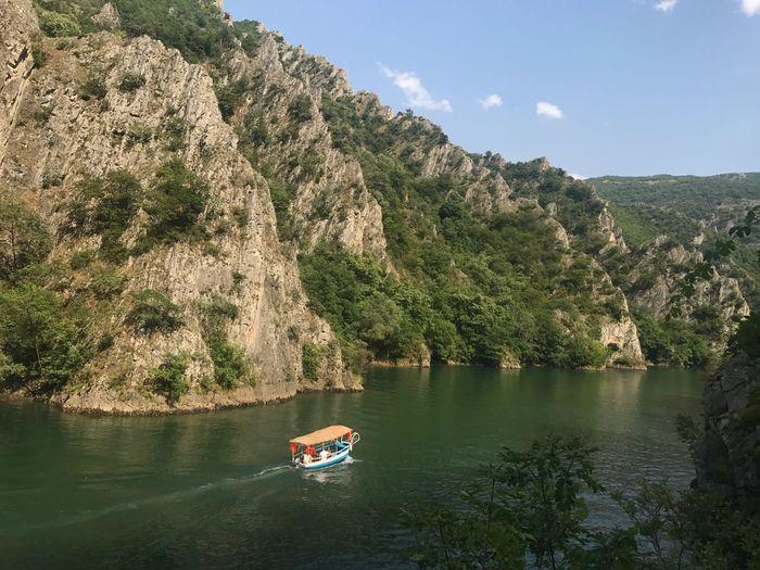 Canyon Matka Matka Canyon Matka Kanion Matka Lake Macedonia