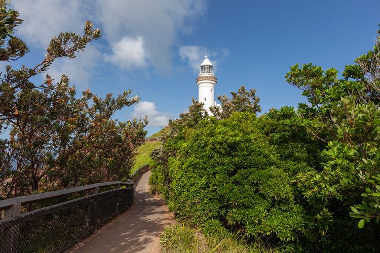 Cape Byron Lighthouse and walkling trail in Byron Bay, NSW, Australia Australia Byron Bay Byron Bay Lighthouse Cape Byron Lighthouse Lighthouse New South Wales  Walk Cape Byron Coastal Walk Landscape