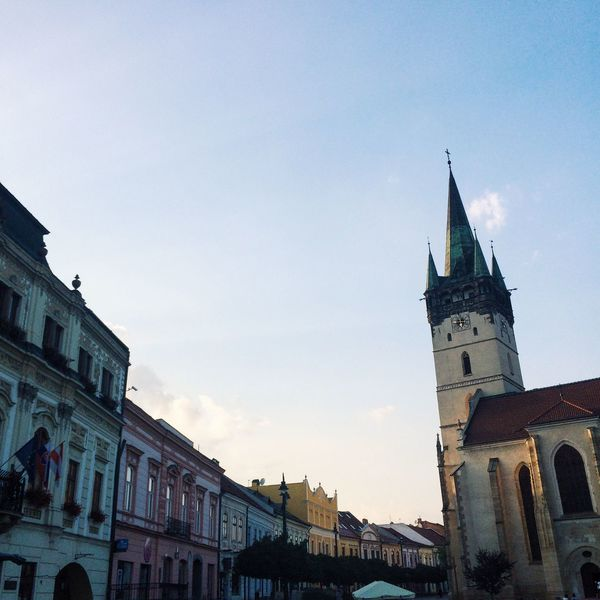 Slovakia Prešov Europe Old Town Built Structure Architecture Building Exterior Sky Outdoors City Life Centrum Beautiful Calm First Eyeem Photo