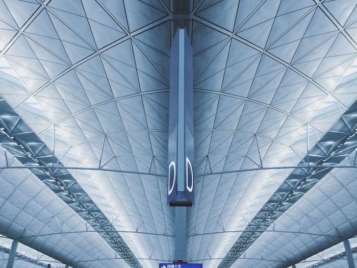 Pattern Pieces HongKong Inrenational Airport Building Architecture Gate
