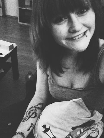 Smile Couch Home Sweet Home Girl Inked Girl