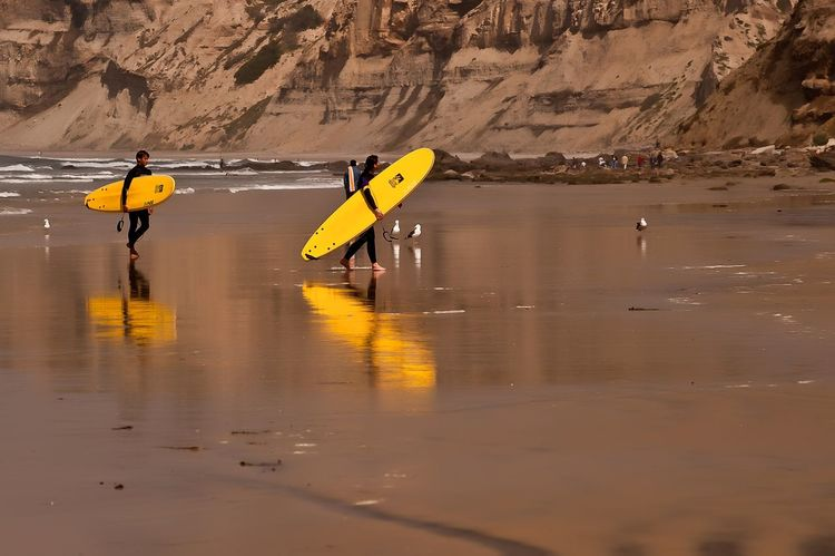 Been There. La Jolla, California San Diego Beach Nature Outdoors Sea And Sky Sport