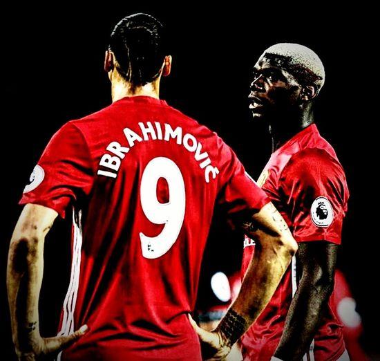 Manchester United Pau Pogba Zlatan Ibrahimovic