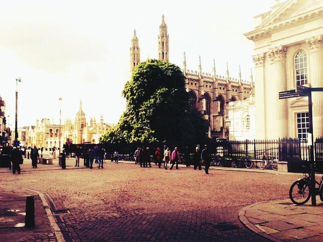 Cambridge ♡just wondering around ^^