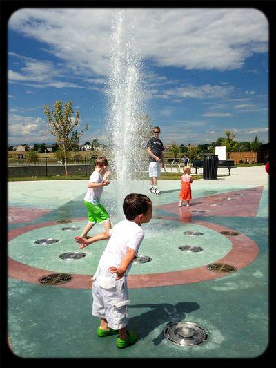 Playground Playing Kids