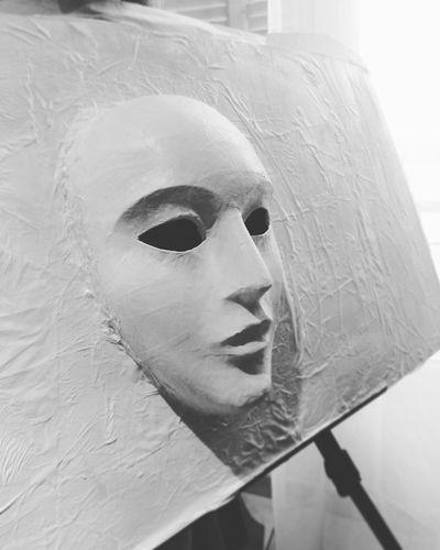 Instagood Acrylic Acryliques Moments Peinture Acrylic Painting Papier-mache Peint Masque