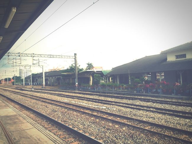 Train Station Train Tracks On The Road Countryside Country Road Trainstation Country Travel Photography Traveling
