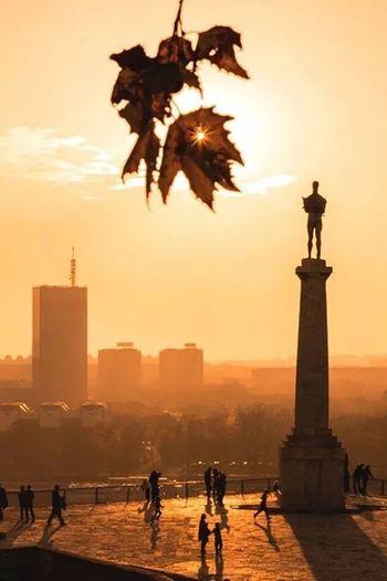 Belgrade Sunny In December  Skyporn Love ♥