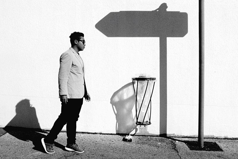 [ Wrong way ] Walking Around People Walking People Photography Streetphotography Light And Shadow Creative Light And Shadow Shadow Shades Of Grey Blackandwhite