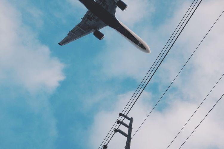 Airplane LAX Losangeles Vcsocam