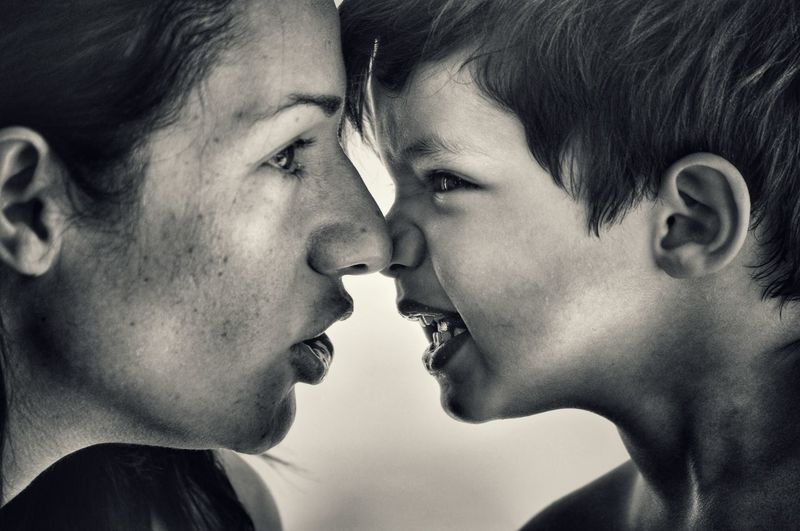 Blackandwhite Love Mother And Son Togetherness Headshot Black And White Bonding People Photography Unconditional Love Capture The Moment Motherhood Pure Love Affectionate Black & White Happiness Innocence Human Face Childhood Family Family Power Getting Inspired Full Frame Blackandwhite Photography Love Without Boundaries Monochrome Photograhy Women Around The World Connected By Travel