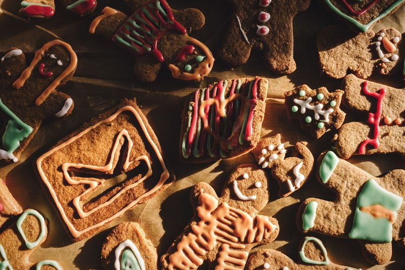 Gingerbread heaven Open Edit EyeEm Best Edits Gingerbread Cookies Dessert Close-up Showcase: December Food Foodporn Food And Drink Sweet Food Merry Christmas Christmastime Variation Art And Craft Christmas Time Holiday Sweets Delicious Brown Arrangement Foodie Dessert Porn Baking Baking Cookies