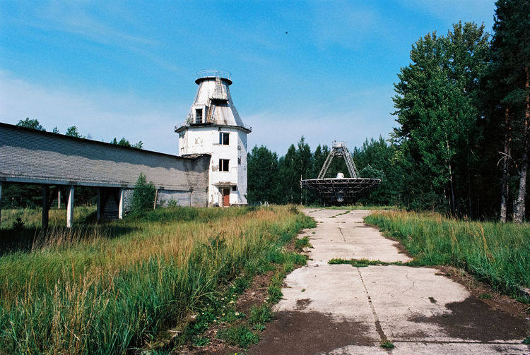 Irbene Radio Astronomy Telescope Abandoned Places Latvia Travel Travel Photography Abandoned Astronomy Building Exterior Cloud - Sky Day Lostplaces No People Outdoors Radio Astronomy Observatory Radio Telescope Soviet Telescope Travel Destinations Ventspils