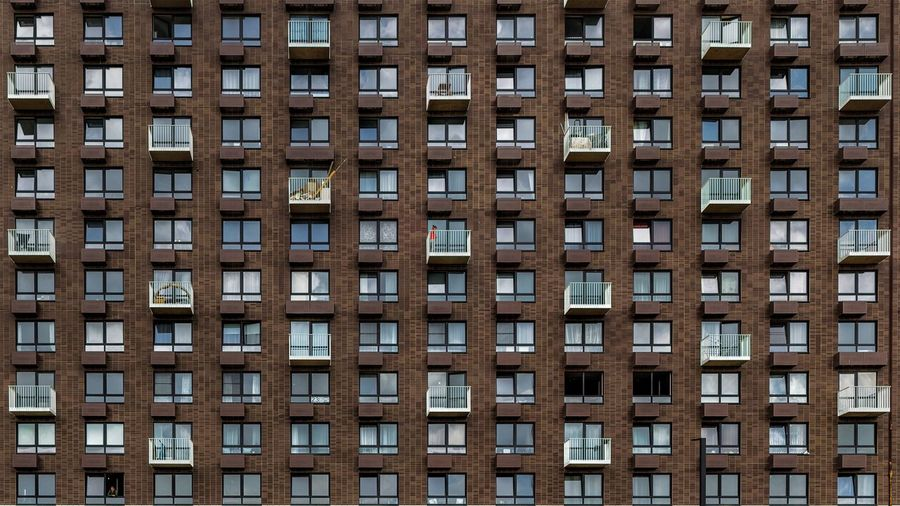 Architecture Window Apartment Built Structure Full Frame Backgrounds Building Exterior Façade Low Angle View Outdoors Office Building Exterior Residential District Day No People City In A Row Building Repetition Pattern House