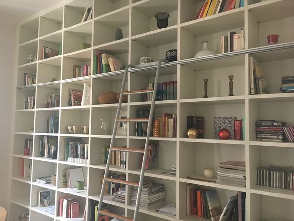 Shelf Bookshelf Book Shelves Indoors  No People Large Group Of Objects Library Cabinet Day