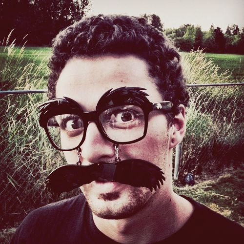 Stu Muttonchops Family Mustache