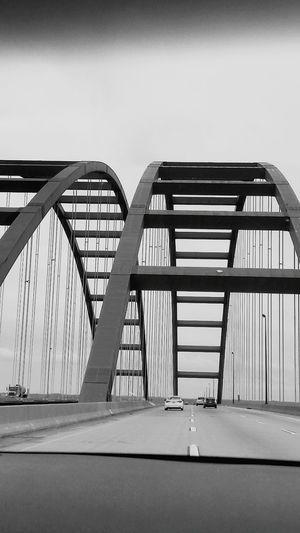 City Bridge - Man Made Structure Sky Architecture Built Structure Suspension Bridge Steel Cable