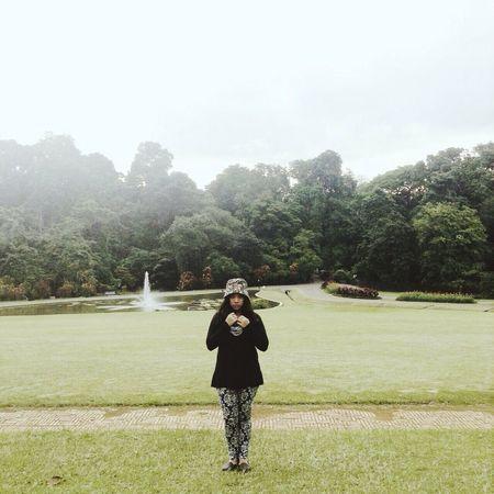 Bogor Kebunraya Park Soaking Up The Sun