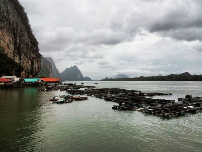Floating Fisherman Village Phang Nga Bay Panyee Island