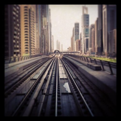 Metro Dubai UAE Depth Of Field