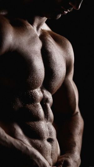 EyeEm Selects Indoors  Human Body Part People Close-up Adult Hand Muscular Build Black Background Men Lifestyles Body Part Studio Shot Shirtless Strength Human Hand Males  Midsection Statue Mid Adult Finger