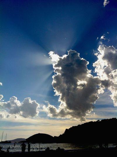 Creative Light And Shadow Skyporn Clouds And Sky Sunlight Beach EyeEm Nature Lover EyeEm Best Shots
