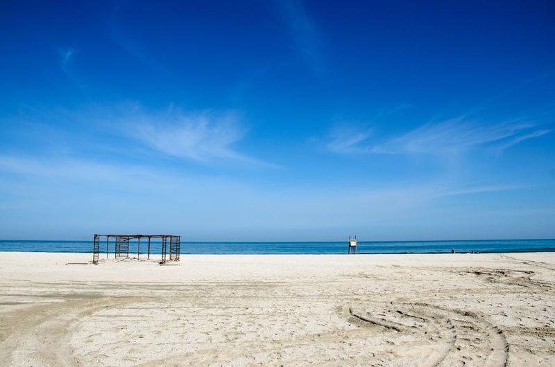 Beach Black Sea Coastline Cold Constanta Outdoors Romania Sea Sky Spring Water