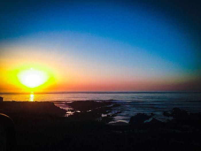 Almograve sun set