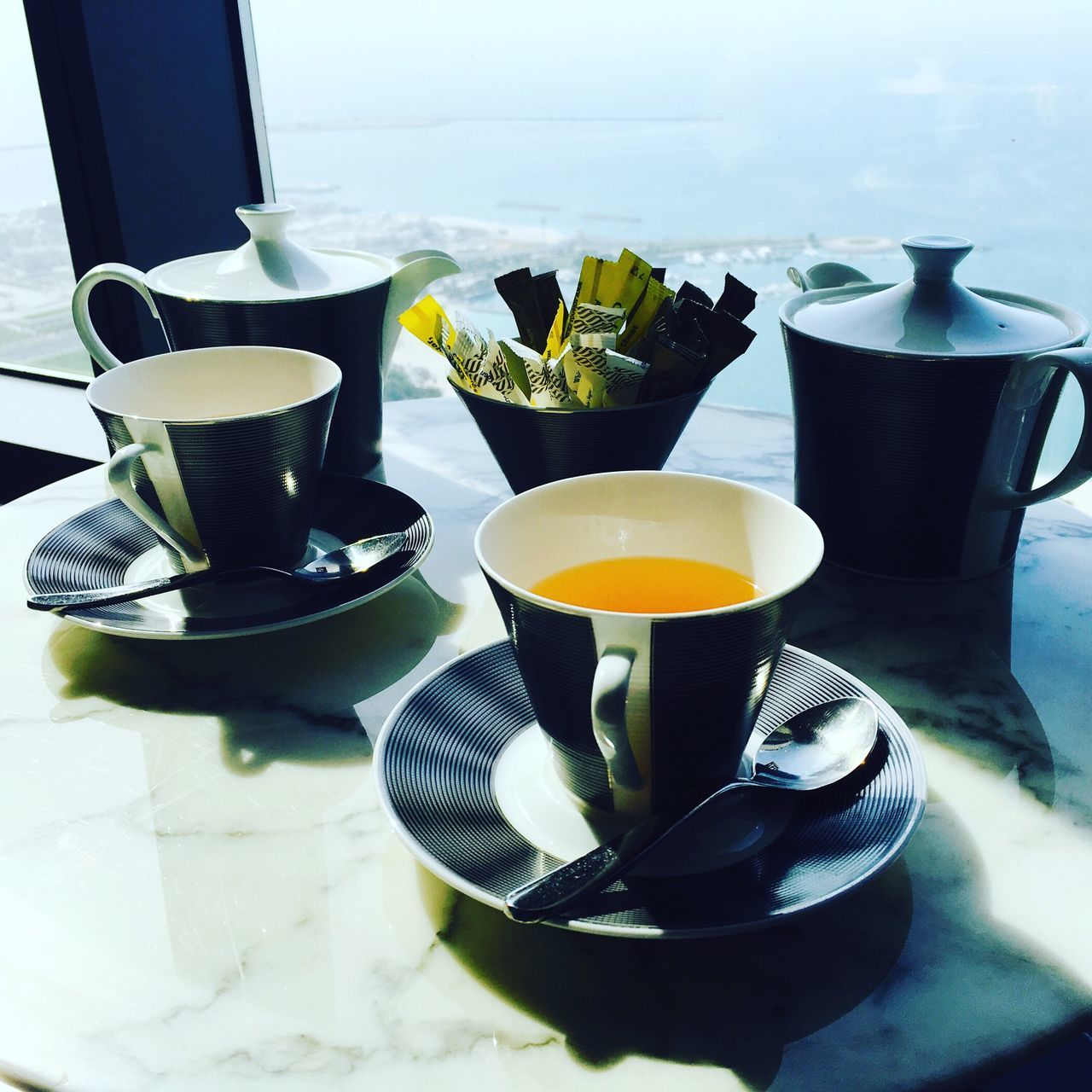 food and drink, drink, refreshment, coffee cup, table, saucer, indoors, no people, coffee - drink, freshness, healthy eating, plate, food, day, close-up, ready-to-eat