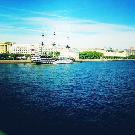 Neva , Spb , Piter  , Peterburg , нева, река, питер, спб, петербург, корабль, лето, небо