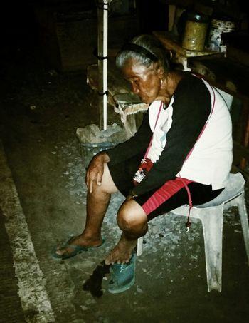 The Human Condition. Streetphotography Eyeem Philippines On The Road Flash Photography NightStreet NightShots.