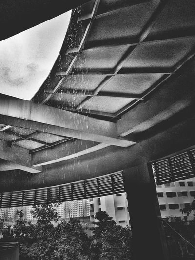 No People Built Structure Indoors  Architecture Close-up Pattern Day RainyDay Rain Rain Drops Water Drops Droplets Streetphotography Blackandwhite Photography Bnw_collection Live Photography Bnw_captures Black & White Photographyeveryday