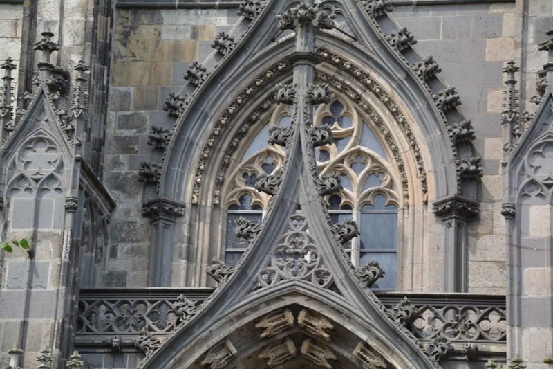 Architecture Bas Relief Building Exterior Built Structure Day Façade Gothic Style History No People Ornate Outdoors Place Of Worship Religion Rose Window Sculpture Spirituality Travel Destinations Window