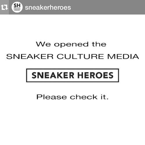 Repost @sneakerheroes with @repostapp.・・・スニーカーカルチャーメディア 【SNEAKER HEROES】が本日開設しました。 スニーカーの新作情報やスニーカーにまつわる カルチャーや歴史、履きこなし術にイベントなど 様々なコラムを発信していきます。読者の中から スニーカーが好きでたまらないスニーカー ヒーローが生まれることを楽しみにしています! 2015年3月6日 Sneakerheroes スニーカーヒーローズ